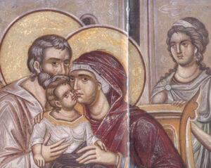 Οι άγιοι Ιωακείμ και Άννα, γονείς της Παναγίας μας